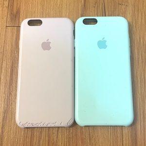 Apple iPhone 6/6s 2 Silicone Non-Slip Phone Cases
